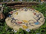 Mini Bird Patio Pad Collectables - Miniature Fairy Garden Planter Village Decoration Accessories