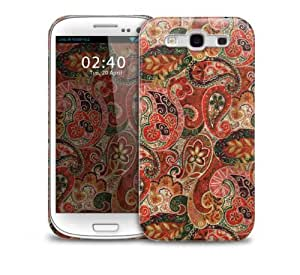 Autumn paisley pattern Samsung Galaxy S3 GS3 protective phone case