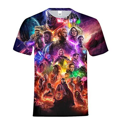 Avengers Endgame Tshirt,Avengers Endgame Shirt,Avengers Endgame Tee Shirt Cosplay T-Shirt for Men Boys Medium]()
