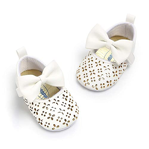 8fa2a56d80524 Amazon.com   Antheron Baby Moccasins Infant Girls Princess Sparkly ...
