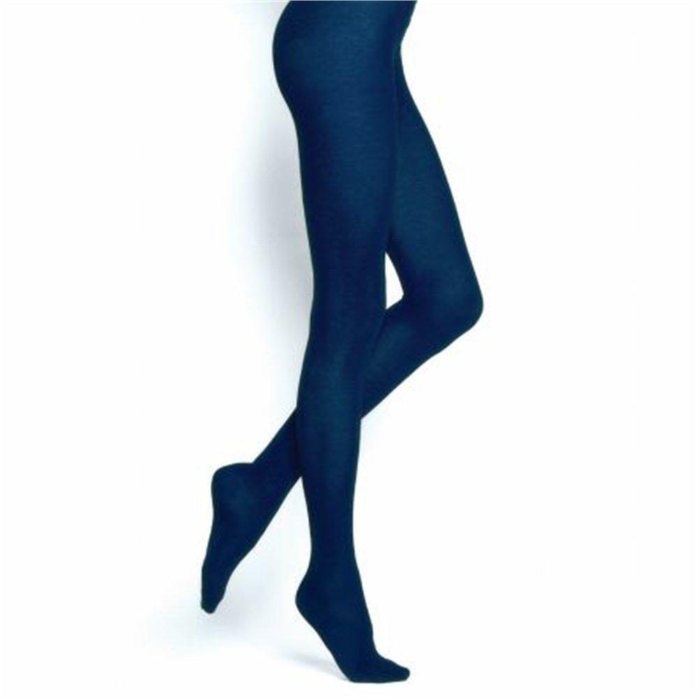 Mallas de algod/ón aterciopelado color azul Bleuboset