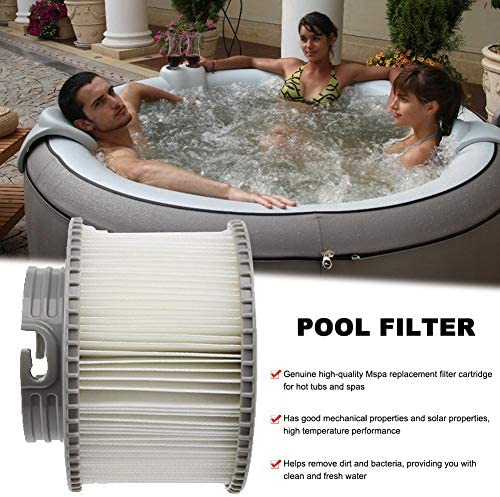 Abilieauty 1//2//4pcs Filter Cartridges Strainer for All Models Hot Tub Spas Swimming Pool for MSPA