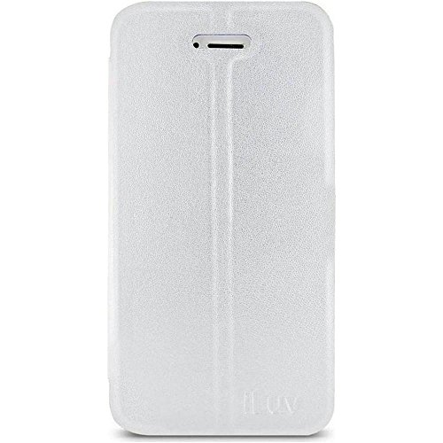iLuv Bolster Cover and Stand for iPhone 5S - Retail Packaging - White