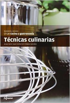 Técnicas Culinarias por J. C. Ferri, N. González J. Valle epub