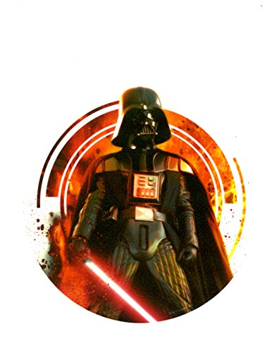 """Price comparison product image 8"""" Round Stars Wars Darth Vader Edible Icing Image Cake Decoration Topper"""
