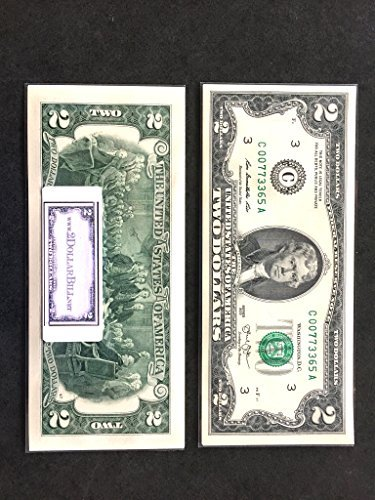 Two Dollar Bill - Pack of 10 Bills