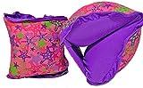 SwimSchool Fabric Arm Floats - Girls - Purple/Pink - Medium/Large