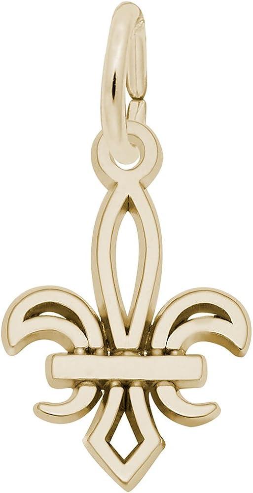 Charms for Bracelets and Necklaces Fleur De Lis Charm