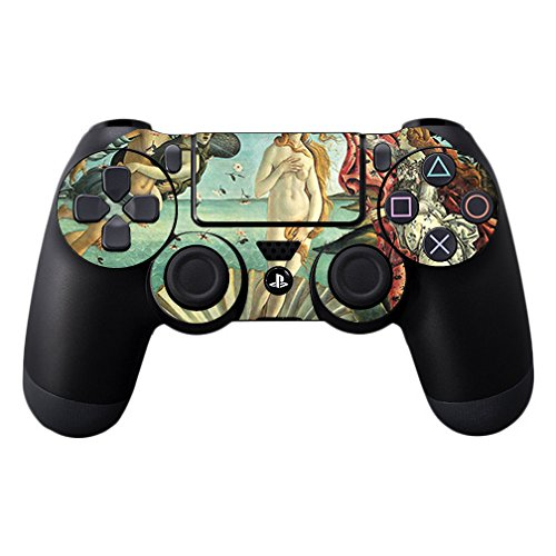 MightySkins Skin for Sony PS4 Controller - Birth of Venus | Protective, Durable, and Unique Vinyl Decal wrap Cover | Easy to Apply, Remove, and Change Styles | Made in The USA -