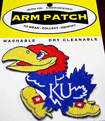 Kansas Jayhawk Patch - 3