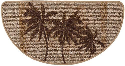 Bacova Paradise Palm Berber Loop Slice Mat One Size -