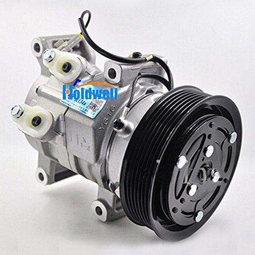 Holdwell Auto AC Compressor 447160-1970 for Toyota Hilux Vigo RAV4 2KD 1KD Denso 10S11C