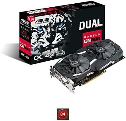 ASUS Radeon RX 580 OC Edition - Tarjeta gráfica (4 GB GDDR5, 256 ...