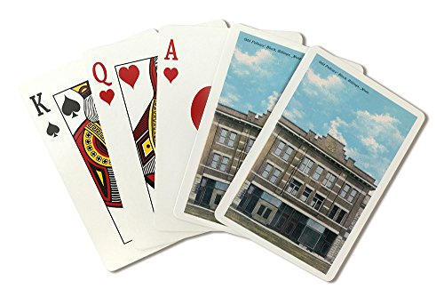 Billings, Montana - Odd Fellows' Block View (Playing Card Deck - 52 Card Poker Size with Jokers)