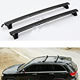 Highitem ONE SET of 2pcs Roof Rails Cross Bar Luggage Rack Crossbar Original accessories FOR JEEP Grand Cherokee 2011-2015