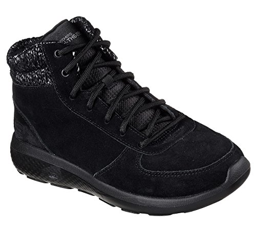 Lace Gray Womens Boots City On Black up Ankle 2 The North Ice Skechers Go dP8OngWO0