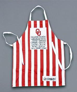Oklahoma Sooners Grillin Apron Magnolia Lane COMINHKPR145266