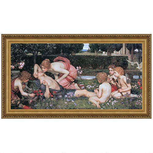 Design Toscano The Awakening of Adonis, 1900: Canvas Replica Painting: Small