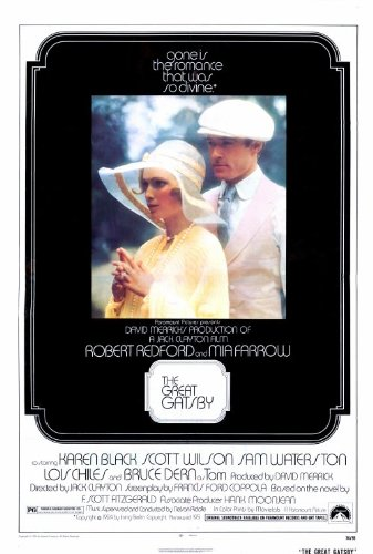 The Great Gatsby 1974 Movie Poster