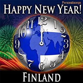 Amazon.com: Happy New Year Finland with Countdown and Auld Lang Syne: Personalisongs: MP3 Downloads