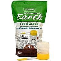Harris Diatomaceous Earth Food Grade, 4lb w/ Free Powder...