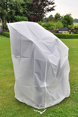 Schutzhülle für Gartenstühle - Stapelstuhl Abdeckhaube aus PEVA-Gewebe