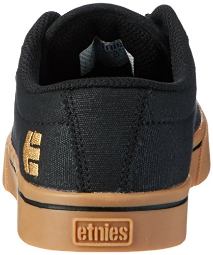 etnies Kids Jameson 2 Eco, Zapatillas Unisex Niños Schwarz (Black/Tan)