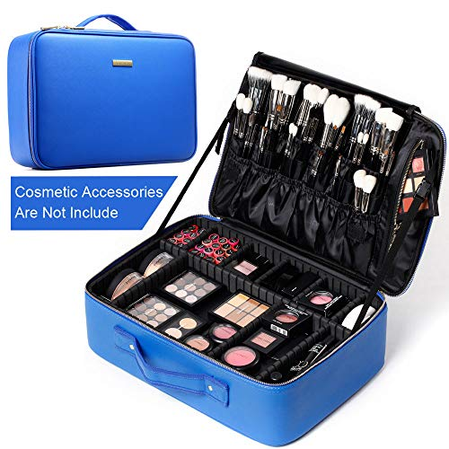 ROWNYEON Travel Makeup Case Makeup Bag Organizer Makeup...