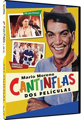 DVD : Cantinflas Dos Peliculas: Por Mis Pistolas - Conserje En Condominio (DVD)