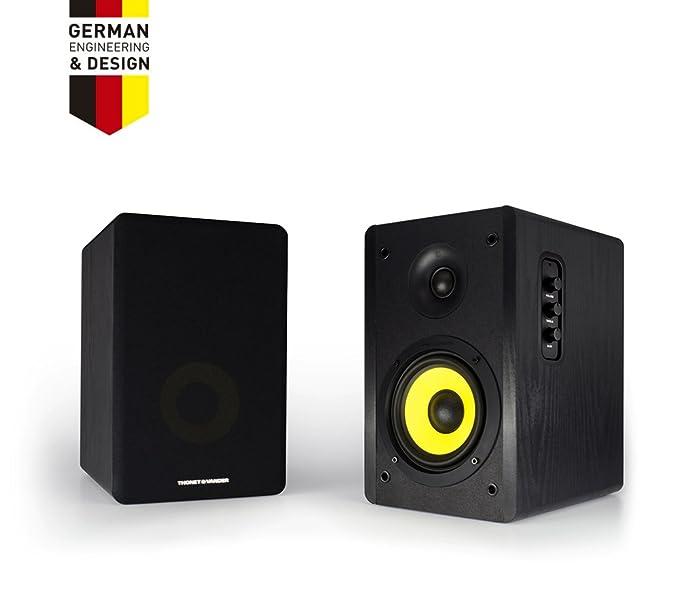 Thonet & Vander German Engineered Wood Home Monitor: Amazon.in ...