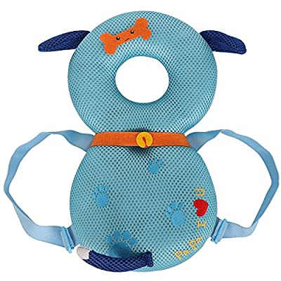 Baby Protector - Baby Ajustable Head Shoulder Safety Pad - Baby Head Cushion with Flexible Strap for Baby Walking - for Baby Safety - for Crawling Baby - 4-24 Months Babies
