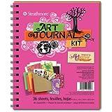 Artterro Art Journal Kit, Hot Pink