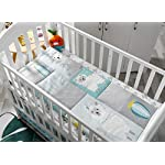 Baby-Nursery-Turquoise-and-Grey-Crib-Bedding-Sets-La-Premura-Llama-and-Cacti-3-Piece-Standard-Size-Crib-Set