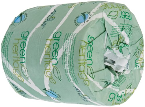 Atlas Paper Mills 235green Green Heritage Toilet Tissue 4 1 2 X 3 1 2 Sheets 2 Ply 500 Per