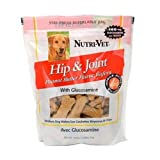 Nutri-Vet Hip and Joint Peanut Butter Wafer with Glucosamine for Small and Medium Dogs, 19.5 Ounce, My Pet Supplies