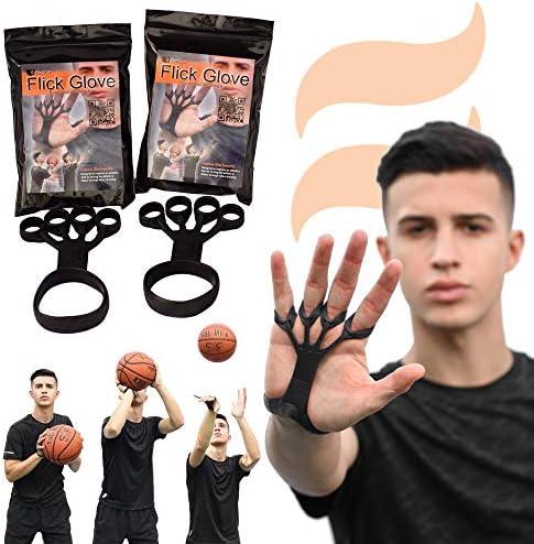 Flick GloveAide à la formation de basketballAccessoires de suivide tirPerfectionnez votre suiviAméliorez instantanément votre tirCorrigez les mauvaises habitudes avec une bonne forme de tir