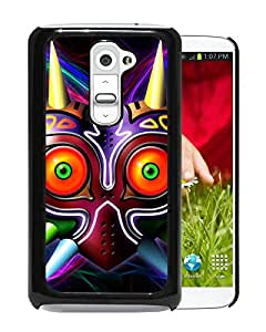 Fashionable Custom Designed Skin Case For LG G2 With Majora Mask Black Phone Case