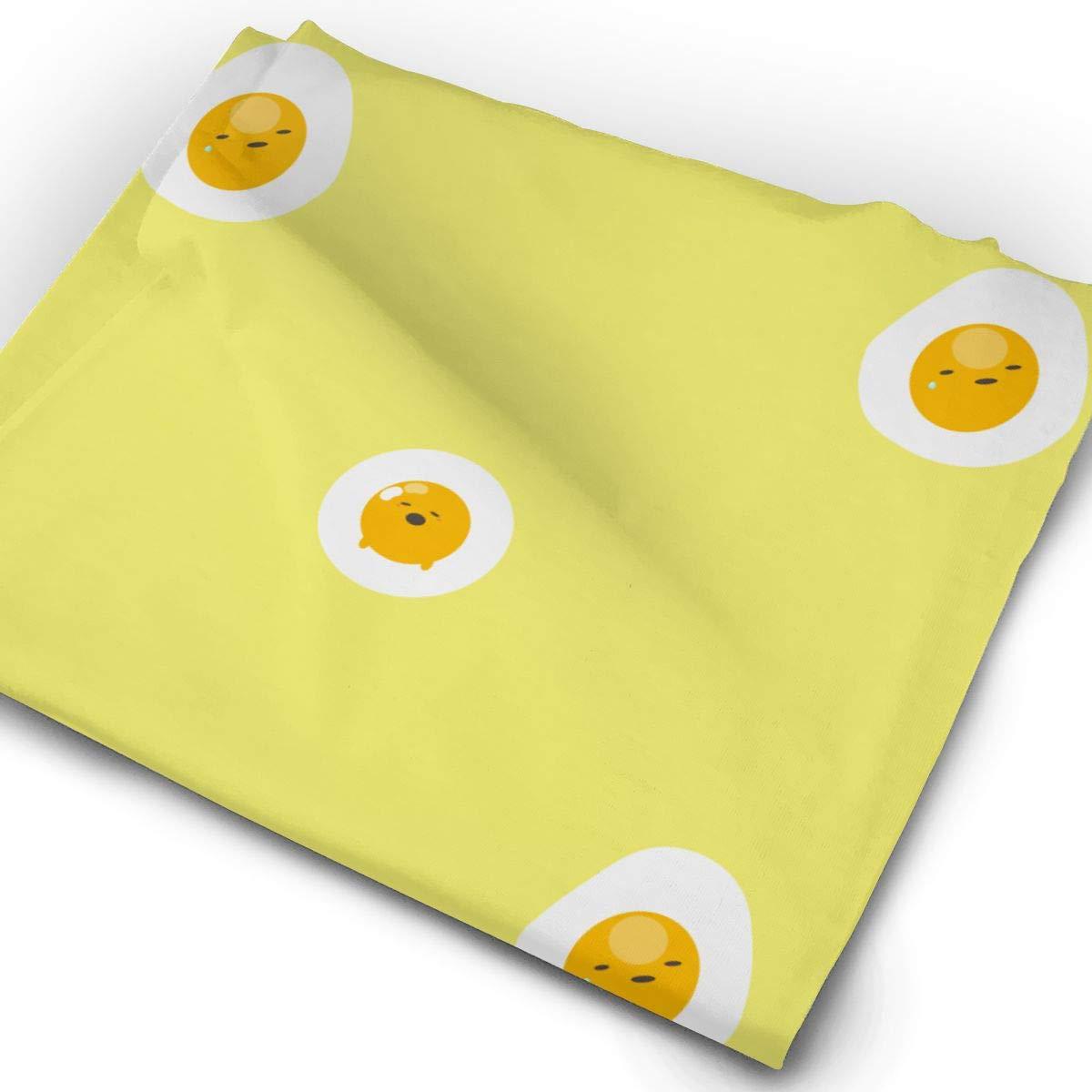 Yellow Cartoon Avocado Unisex Fashion Quick-Drying Microfiber Headdress Outdoor Magic Scarf Neck Neck Scarf Hooded Scarf Super Soft Handle