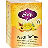 Promotes Healthy Kidney Function 100% Natural Herbal Tea Supplement Made with Organic Dandelion Certified Organic by QAI Kosher Parve  Renewal Begins with Peach Detox Restoring internal purity has never tasted so good. Yogi Peach Detox is a blend of ...