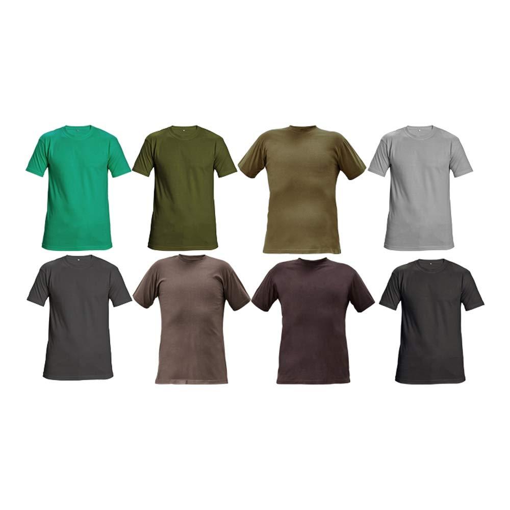 confezione da 100 S regolare nero CERVA 0304 0046 60 S TEESTA T-shirt
