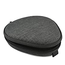 Geekria EJB51 Hard Carrying Case for LG HBS 1100, HBS 910, Jabra, FKANT, Bluenin, Bluetooth Wireless Stereo Headset / Protective Travel Bag with Space for USB Power Adapter, Power Bank and Accessories