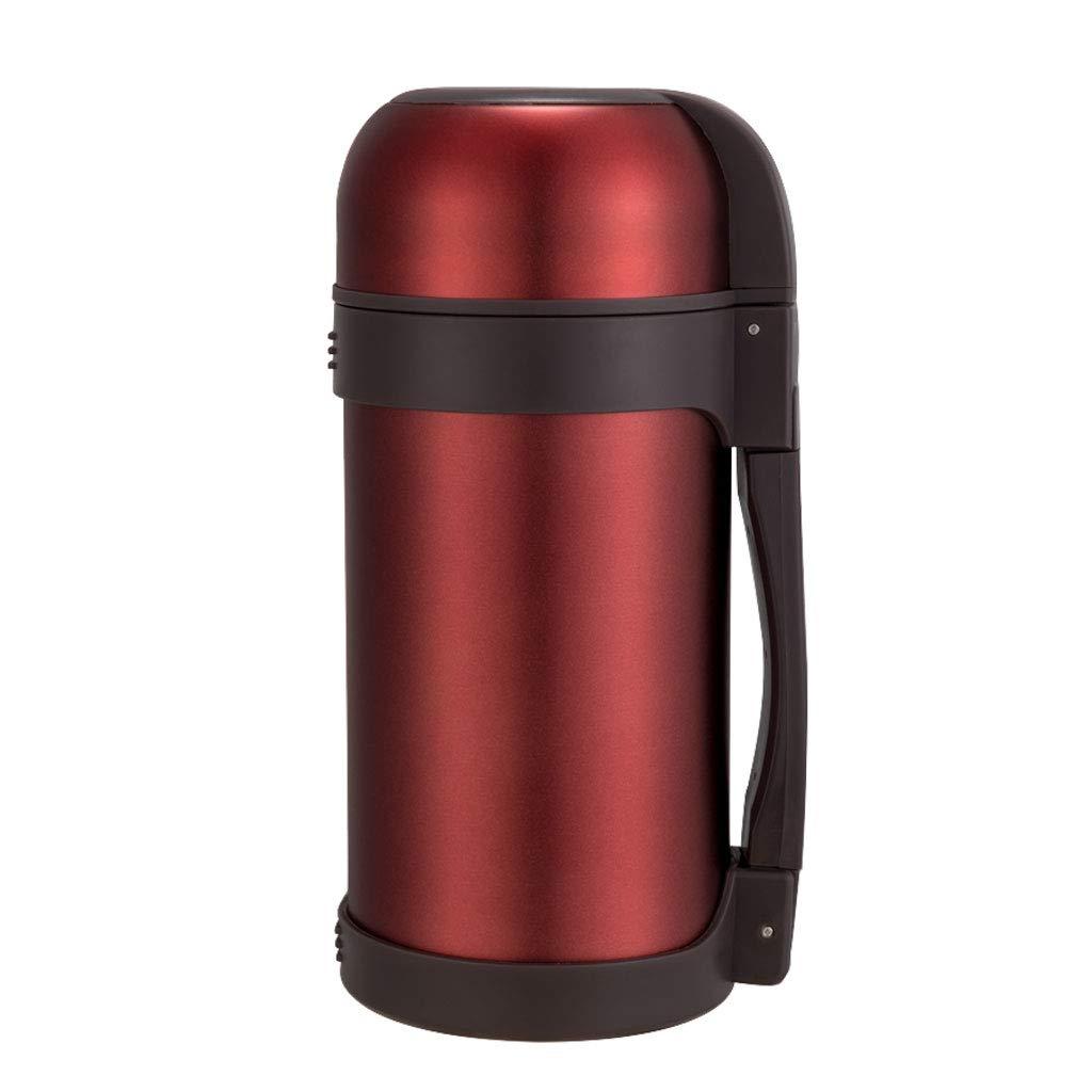 FYCZ Vakuumisolierter Krug 1.2L, Edelstahl-doppelter ummauerter Tee-Wasser-Kaffee-Krug-Isolierungs-Topf-Auto-Lastwagen-Wandern im Freien