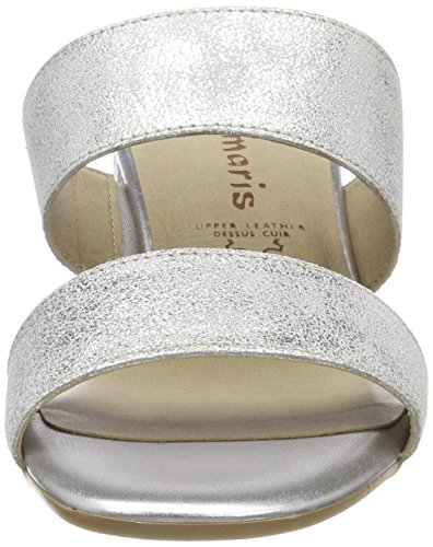Metall Donna 27231 Ciabatte Argento Silver Tamaris Ew1H7