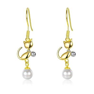 925 Silber Ohrringe CreolenNeu Schmuck Silver Female Earring Jewelery Zirkonia
