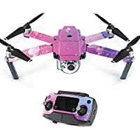 MightySkins Protective Vinyl Skin Decal for DJI Mavic Pro Quadcopter Drone wrap cover sticker skins Pink Diamond