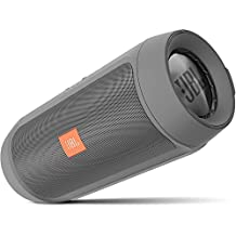 JBL Charge2+ Portable Bluetooth Speaker, Gray