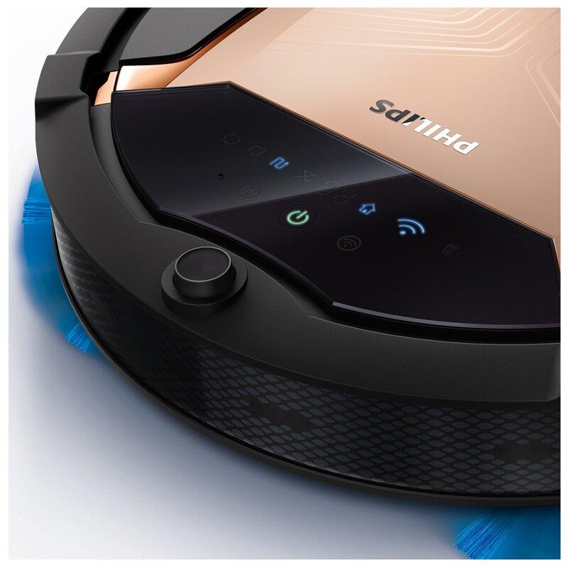 Philips SmartPro Active Robot aspirador FC8832/82 - Aspiradoras robotizadas (Sin bolsa, Negro, Cobre, Alrededor, 0,4 L, 63,4 dB, Alfombra): Amazon.es: Hogar