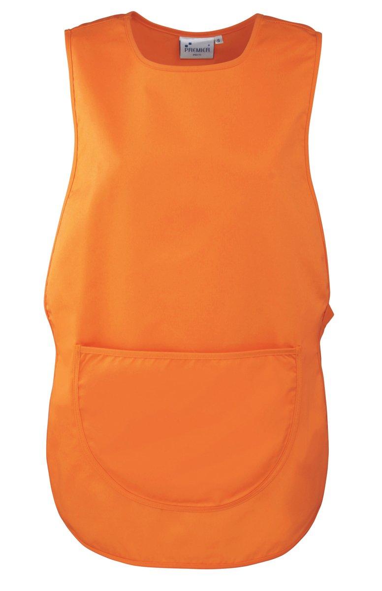 Premier Ladies/Womens Pocket Tabard / Workwear (L) (Orange) by Premier