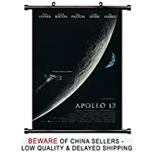 Apollo 13 Tom Hanks Movie Fabric Wall Scroll Poster (32x48) Inches