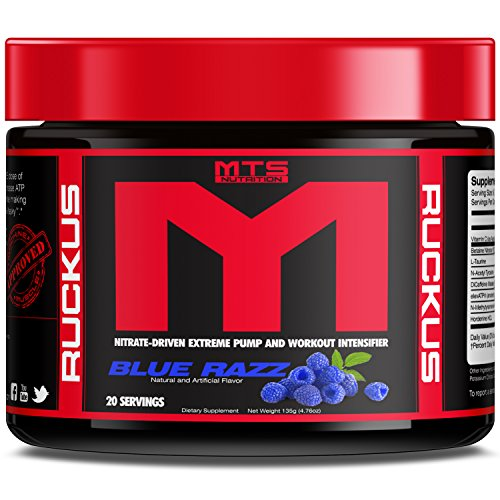 MTS Nutrition Machine Ruckus Blue Razz